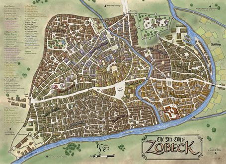 Zobeck City Map Pdf Kobold Press Store