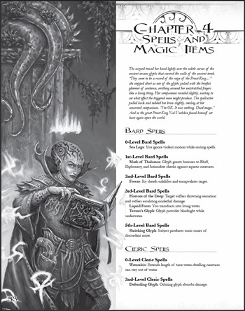 Spells & Magic Items Preview Page