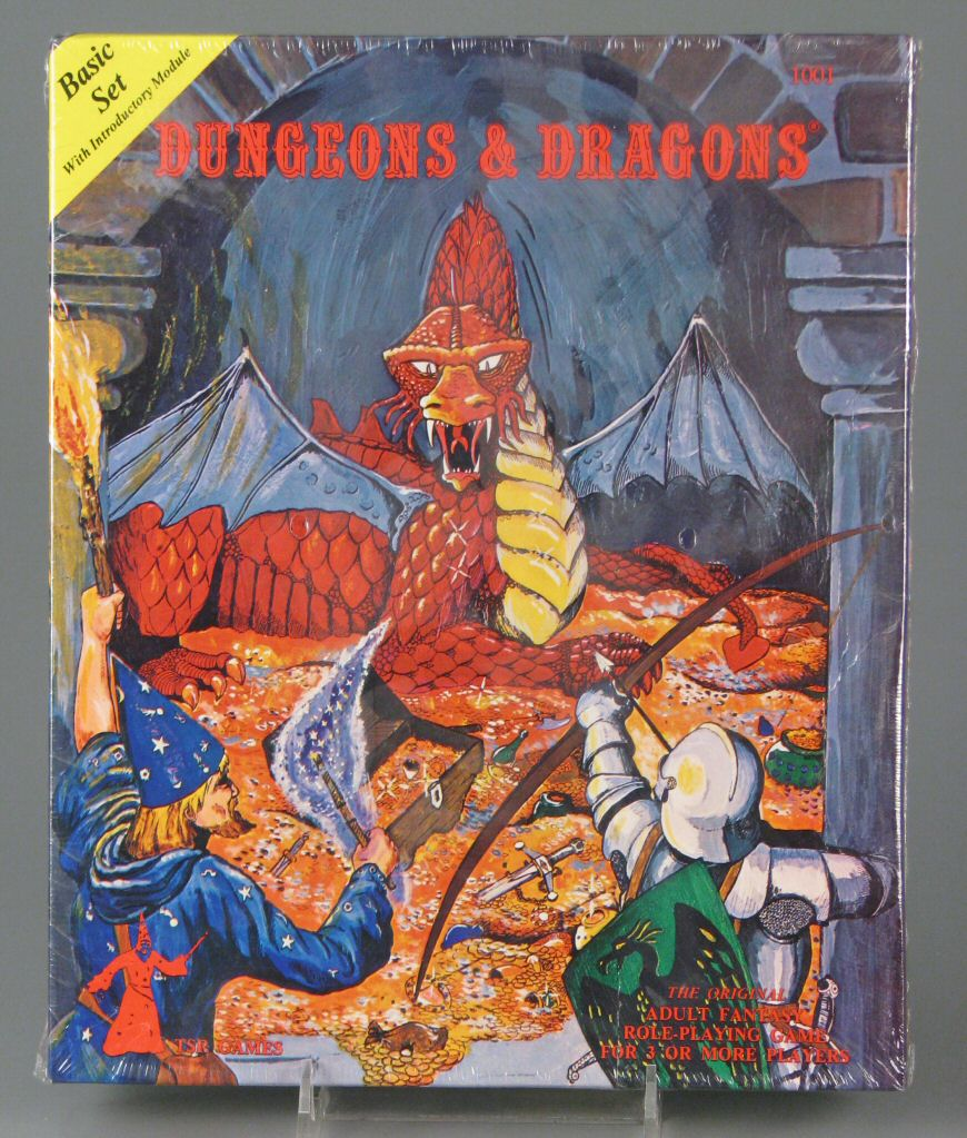 Dungeons & Dragons Basic Set; TSR, Inc.