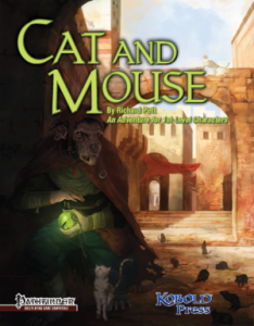 Cover for Cat and Mouse
