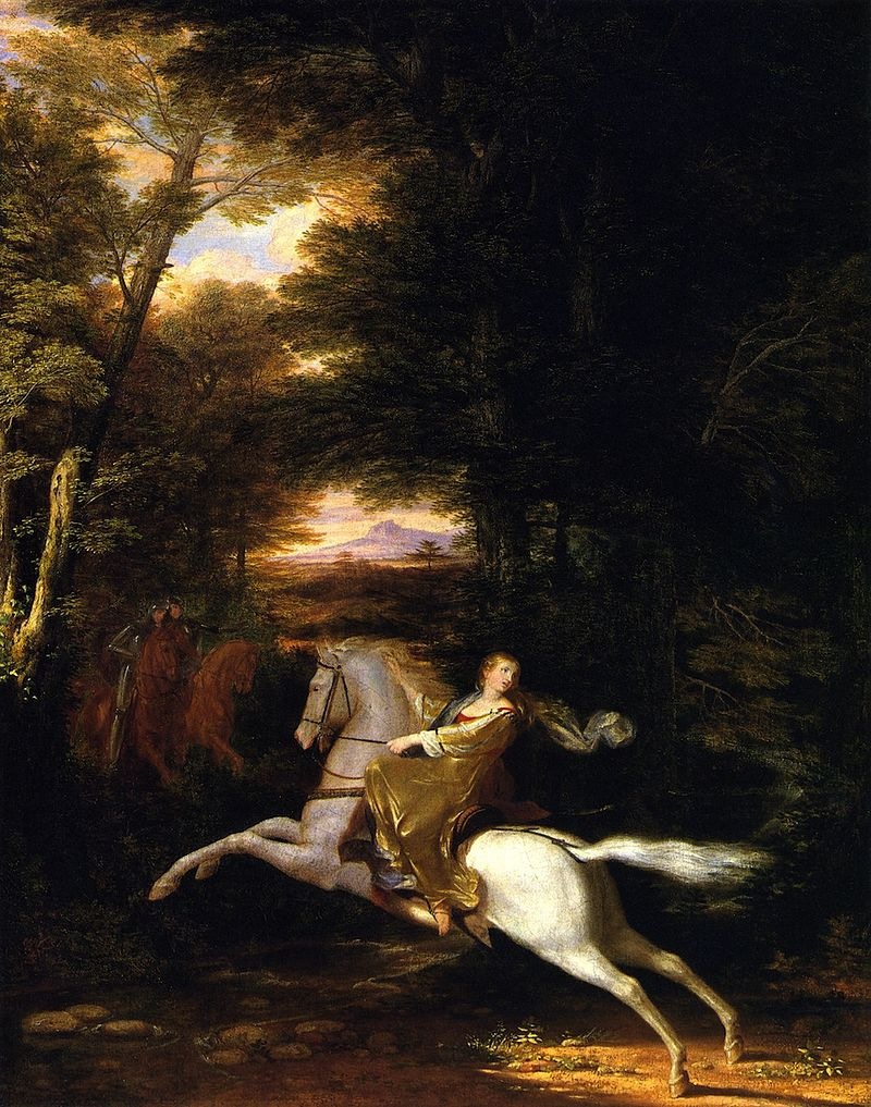 Florimell's Flight by Washington Allston