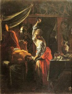 1601 Adam Elsheimer, Judith Beheading Holofernes, 1601-03