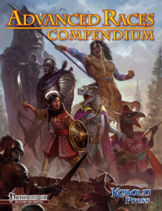 Advanced Races Compendium Cover