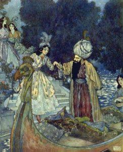 Edmund Dulac - Bluebeard
