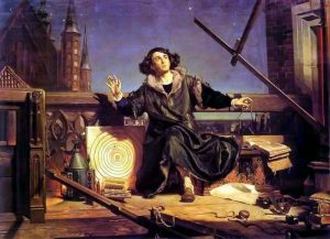 Jan Matejko - Astronomer Copernicus Conversation with God