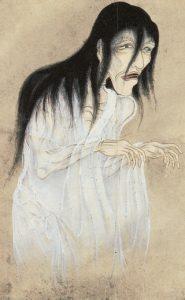 """Suushi Yurei"" by Sawaki Suushi (佐脇嵩之, Japanese, *1707, †1772)"