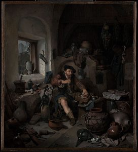 Cornelis Bega (Dutch, 1631 or 1632 - 1664) - The Alchemist