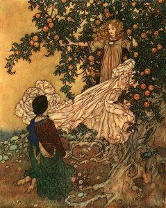 Edmund Dulac - The Garden of Paradise