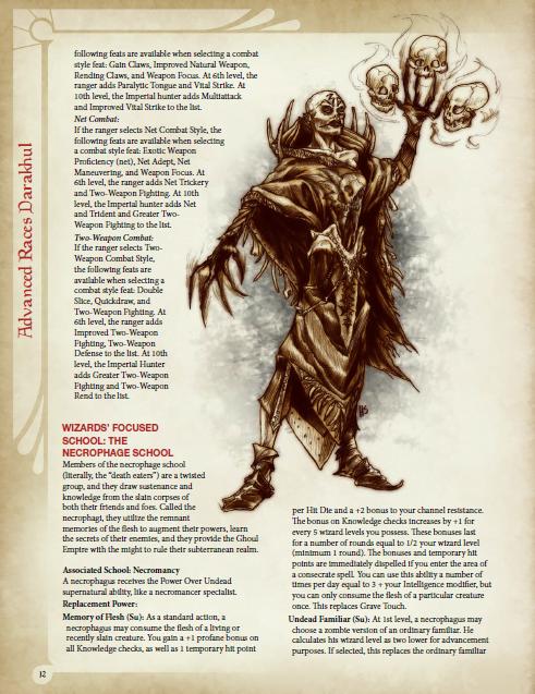 Advanced Races 2: Darakhul Ghouls | Kobold Press Store