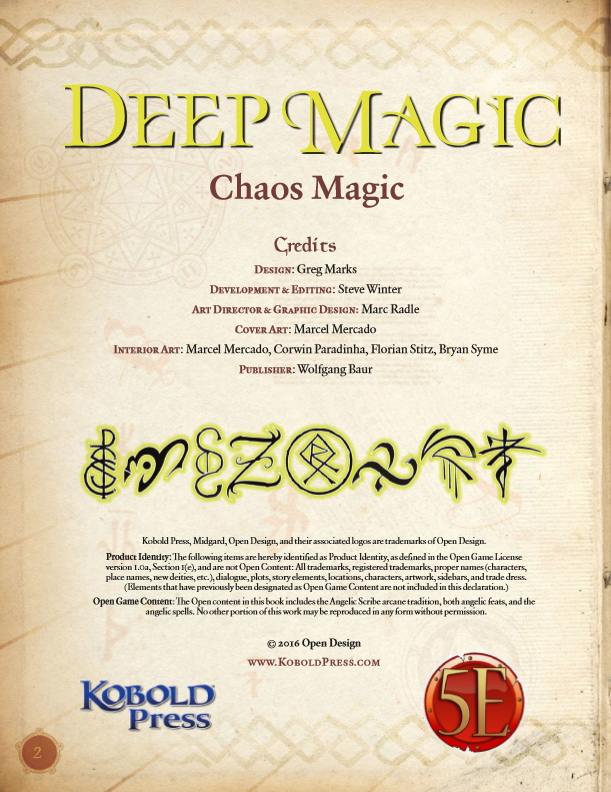 chaos magick for beginners pdf