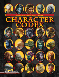 COVER Character Codex