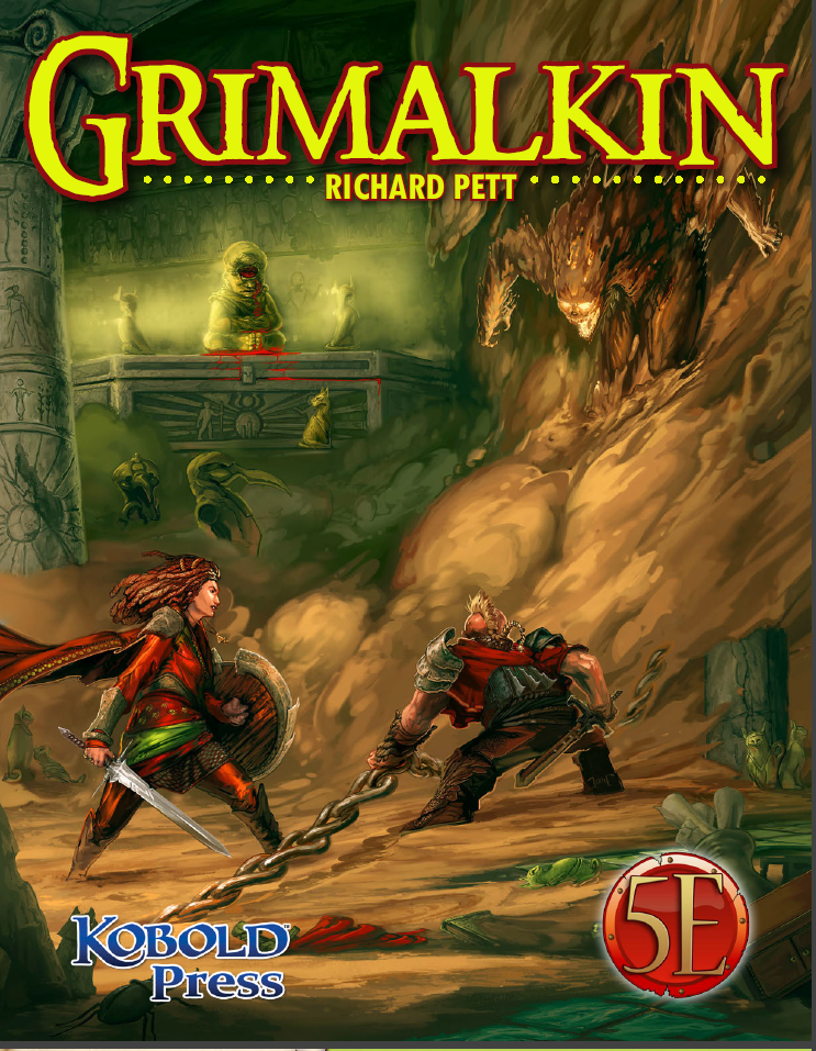 Cover of Grimalkin