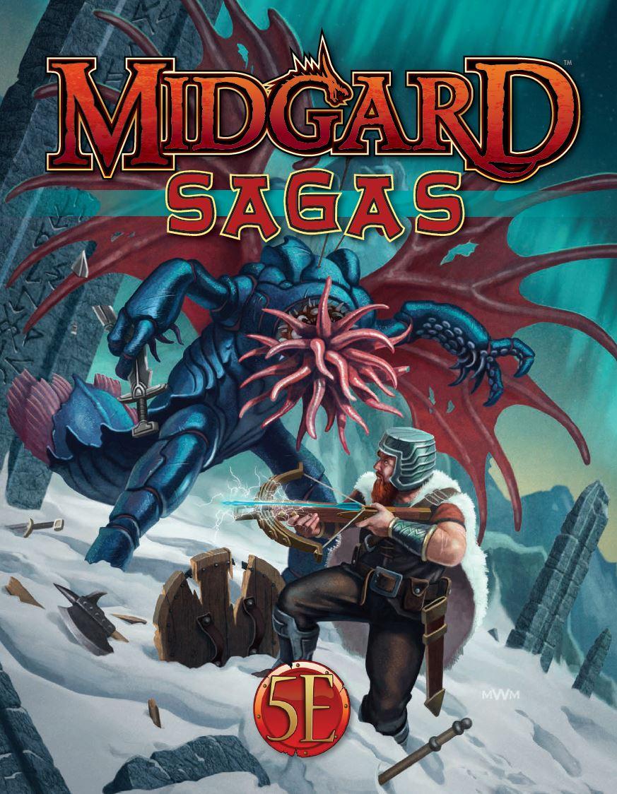Midgard Sagas for 5th Edition -  Kobold Press