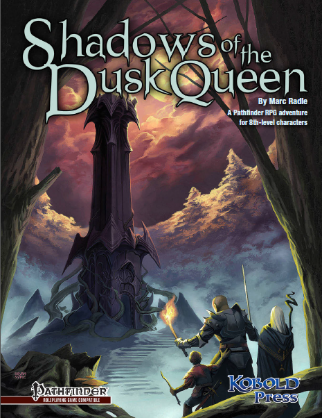 Cover of Shadows of the Dusk Queen