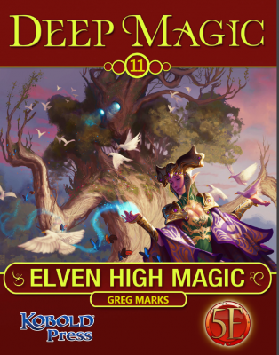 DM 11 Elven High Magic