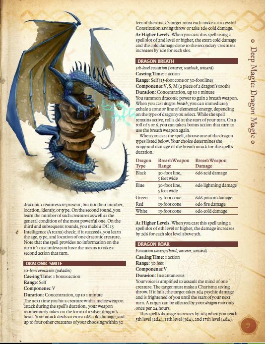 Deep Magic: Dragon Magic PDF (5th Edition)