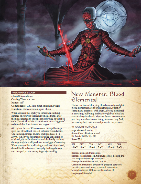 Deep Magic Blood Doom Pdf 5th Edition Kobold Press Store