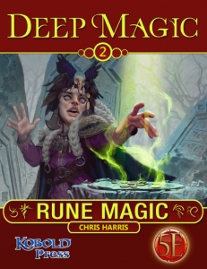 DM2 Rune Magic Cover
