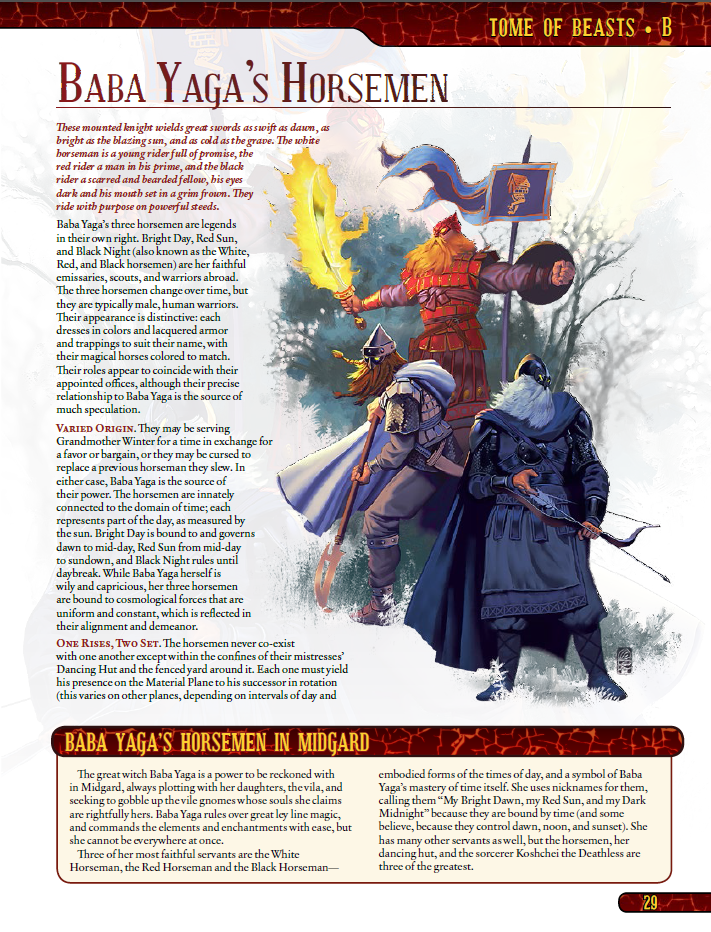 tome of beasts for 5th edition | kobold press store