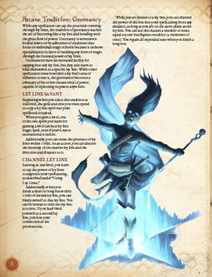 Deep Magic: Ley Lines PDF (5th Edition)