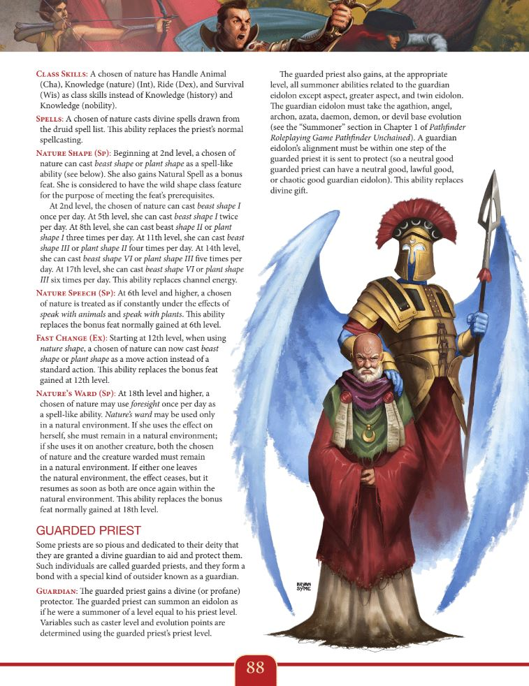 New Paths Compendium for Pathfinder RPG - Expanded Edition
