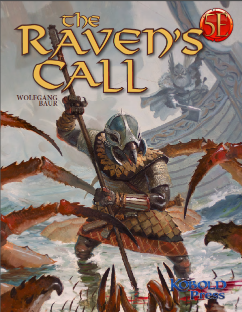 Cover of The Raven's Call