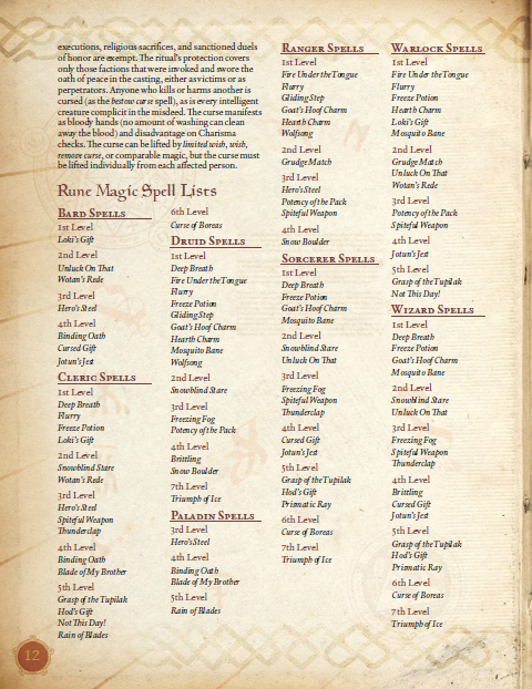 Deep Magic: Rune Magic PDF (5th Edition)