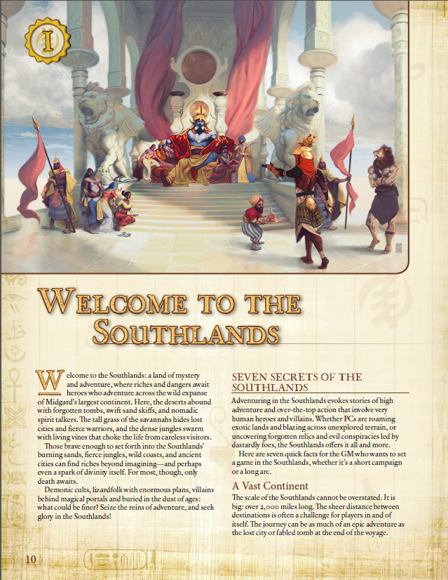 Southlands Campaign Setting for Pathfinder RPG