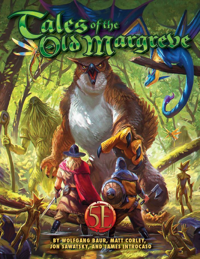 Tales of the Old Margreve for 5th Edition -  Kobold Press