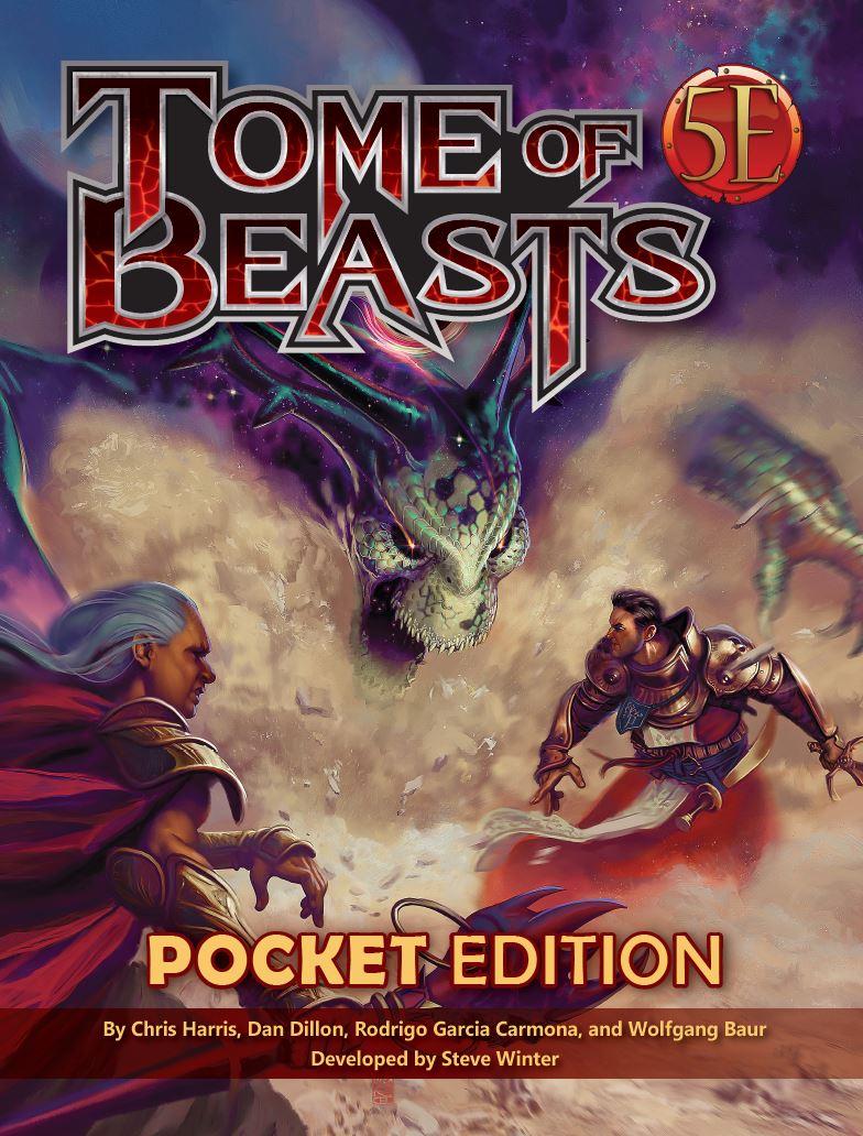 Tome of Beasts 5E Pocket Edition (T.O.S.) -  Kobold Press