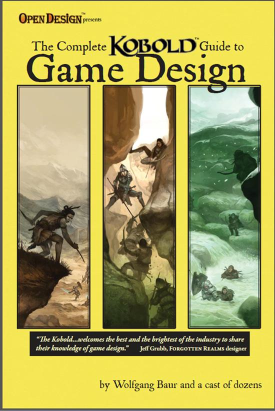 Complete kobold guide to game design hardcover kobold for Bureau 13 rpg pdf