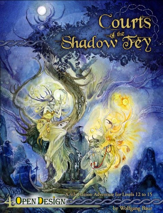 Cover of Courts of the Shadow Fey