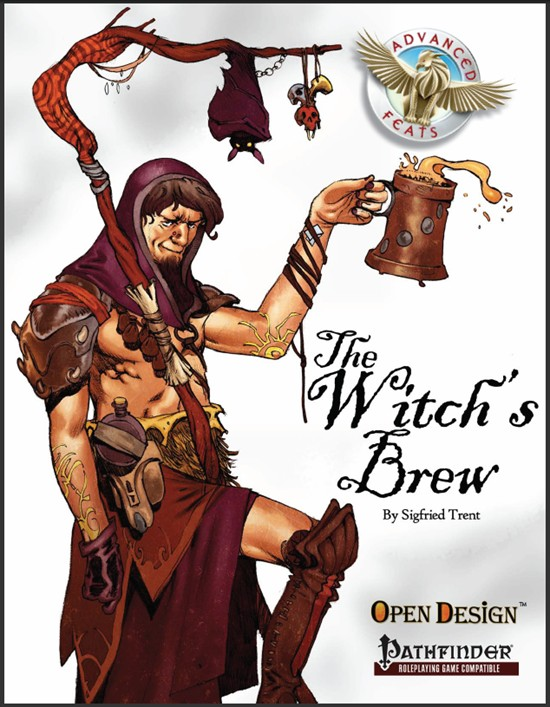 Advanced Feats: The Witch's Brew (Pathfinder RPG) (PDF)