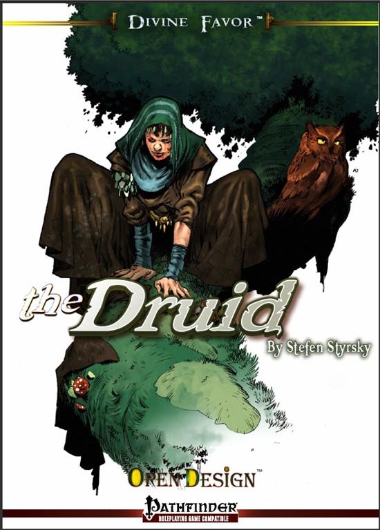 Divine Favor: the Druid (Pathfinder RPG)