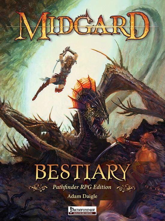 Midgard Bestiary Pathfinder RPG