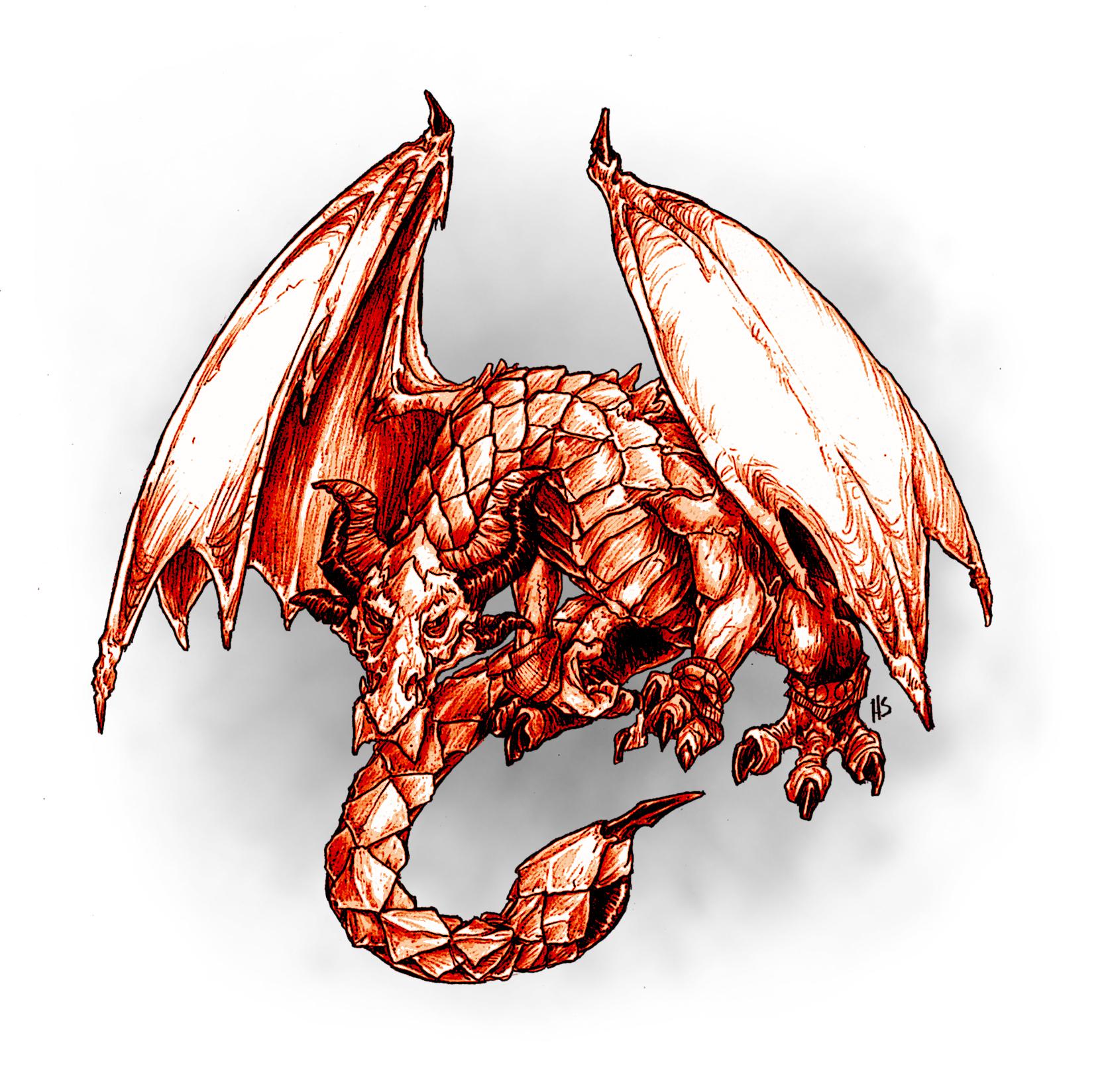 Monday Monsters: The Crimson Drake