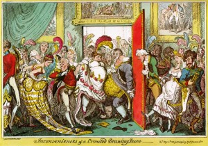 Inconveniences of a Crowded Drawing Room