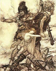 Rackham, The Giants Seize Freya