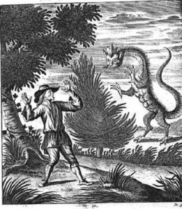 Pieter van der Aa, Herder and Dragon (1723)