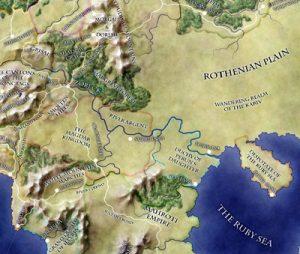 Central Midgard Map