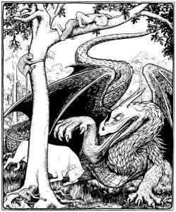 Illustration from More English Fairy Tales
