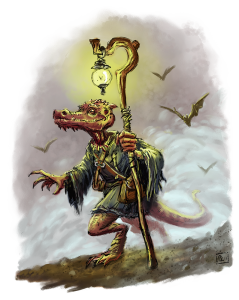 """Jiro the Kobold"" by Pat Loboyko"