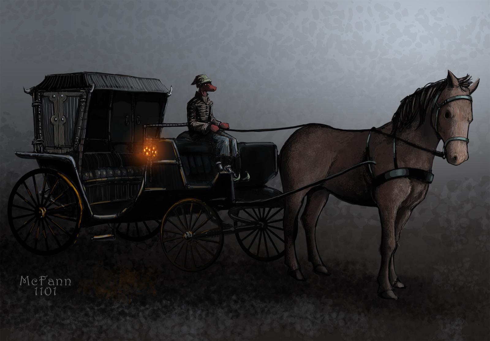 Blackeye's Carriage