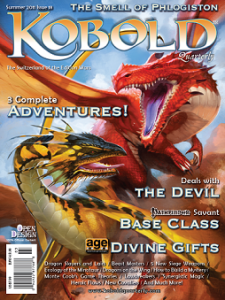 Kobold Quarterly #18 Cover (c) Open Design LLC
