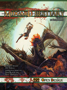 Midgard Bestiary Vol. 1 Cover