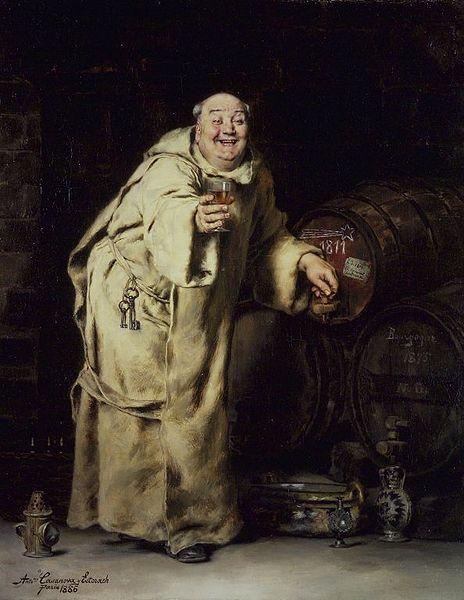 Antonio Casanova y Estorach, Monk Testing Wine