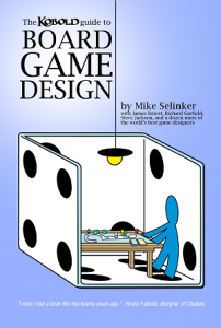 Cover of the Kobold Guide to Board Game Design by John Kovalic