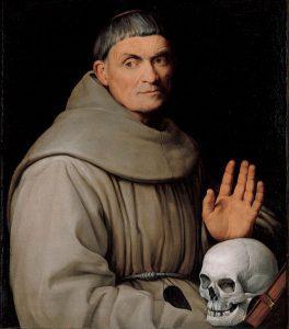 Jacopo da Ponte, Portrait of a Franciscan Friar