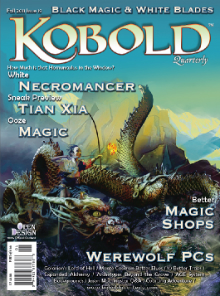 Cover for Kobold Quarterly magazine #19