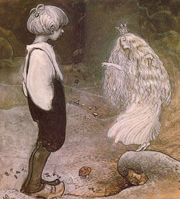 John Bauer - from Among Pixies and Trolls